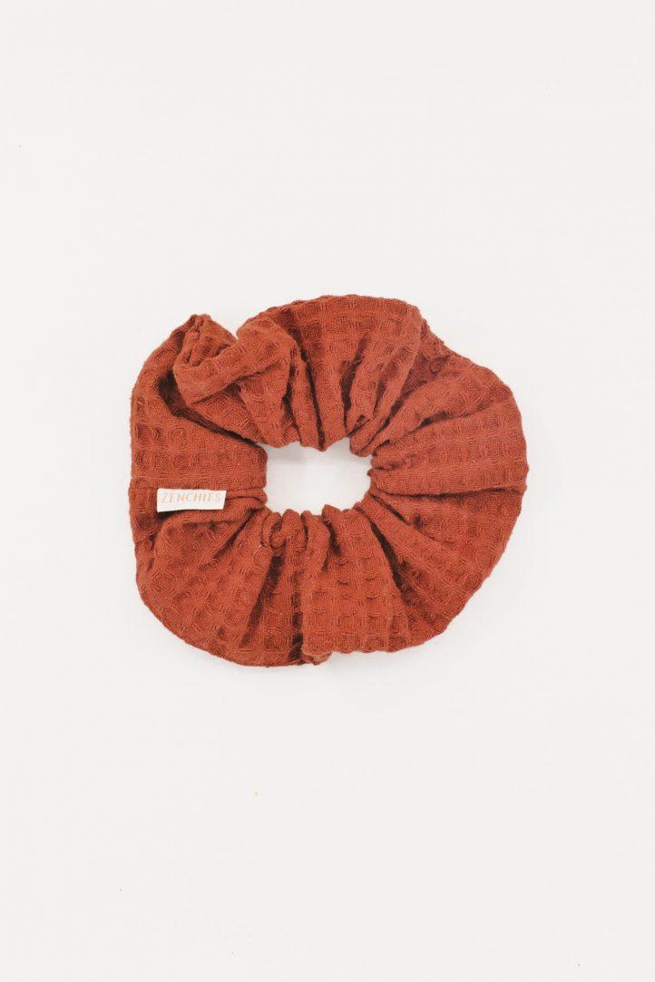 Pumpkin Spice Zenchies Scrunchie